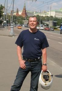 John Rynne in Moscow, 2011
