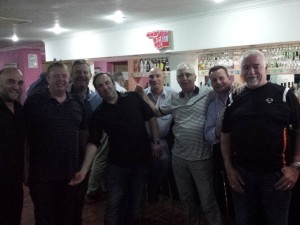 Lads from the Riverside Inn