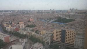 Kashgar Hotel view