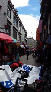 Lhasa street market 1