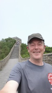 JR at The Great Wall